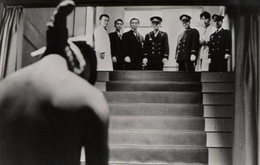 大島渚作品《絞死刑》劇照。