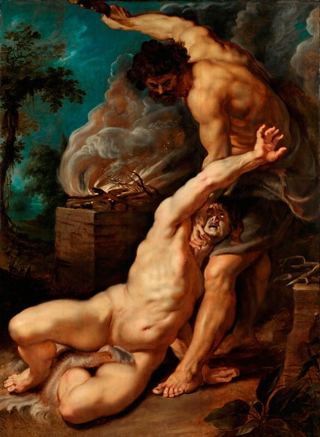 彼得·保羅·魯本斯作品《該隱殺害亞伯》(1608-1609年)